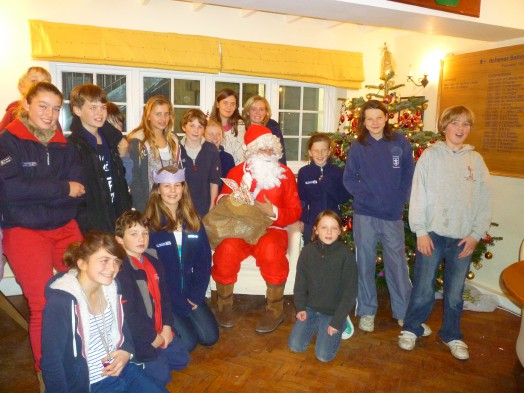 Father Christmas visits South Zone Squad