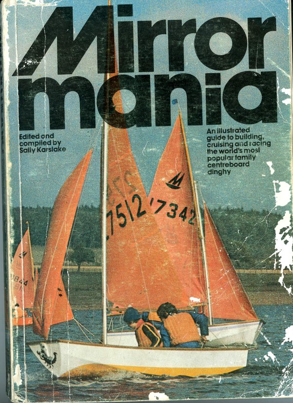 Front cover of the book Mirrormania showing 27512 - Sidewinder sailing to windward