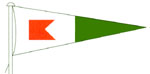 Barnt Green Sailing Club burgee