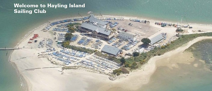 An arial view of Hayling Island Sailing Club