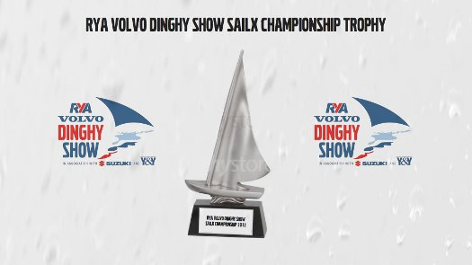 Picture of the RYA Volvo Dinghy Show SailX Championship Trophy
